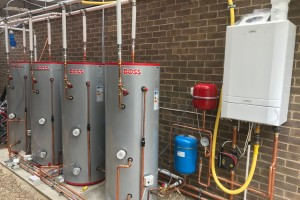 Temporary Heating & Hot Water