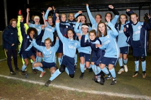 Girls Cambridgeshire County Schools U14 football team